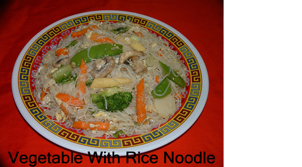Vegetable Rice Noodle